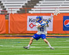 Cazenovia Lakers Jake Stowell (15) winds up for a shot at the LaFayette Lancers net in Section III Boys Class C Lacrosse Championship action at the Carrier Dome in Syracuse, New York on Saturday, May 28, 2016.  Cazenovia won 11-9.