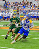 Cazenovia Lakers TJ Connellan (23) comes away with a ground ball against the LaFayette Lancers in Section III Boys Class C Lacrosse Championship action at the Carrier Dome in Syracuse, New York on Saturday, May 28, 2016.  Cazenovia won 11-9.