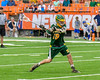 LaFayette Lancers Roman Reiss (19) winds up for a shot at the Cazenovia Lakers net in Section III Boys Class C Lacrosse Championship action at the Carrier Dome in Syracuse, New York on Saturday, May 28, 2016.  Cazenovia won 11-9.