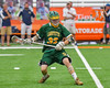 LaFayette Lancers Ty Powless (33) with the ball against the Cazenovia Lakers in Section III Boys Class C Lacrosse Championship action at the Carrier Dome in Syracuse, New York on Saturday, May 28, 2016.  Cazenovia won 11-9.