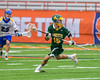 LaFayette Lancers Gavin Warren (15) with the ball against the Cazenovia Lakers in Section III Boys Class C Lacrosse Championship action at the Carrier Dome in Syracuse, New York on Saturday, May 28, 2016.  Cazenovia won 11-9.