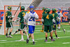 Cazenovia Lakers Cole Willard (24) after scoring against the LaFayette Lancers in Section III Boys Class C Lacrosse Championship action at the Carrier Dome in Syracuse, New York on Saturday, May 28, 2016.  Cazenovia won 11-9.