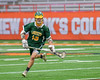 LaFayette Lancers Roman Reiss (19) with the ball against the Cazenovia Lakers in Section III Boys Class C Lacrosse Championship action at the Carrier Dome in Syracuse, New York on Saturday, May 28, 2016.  Cazenovia won 11-9.