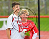 Baldwinsville Bees Varisty Lacrosse team celebrated Senior Night with Frank Delia (16) at the Pelcher-Arcaro Stadium in Baldwinsville, New York on Tuesday, May 2, 2017.