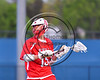 Baldwinsville Bees Austin Bolton (15) looking to make a play against the West Genesee Wildcats in Section 3 Boys Lacrosse action at Mike Messere Field in Camillus, New York on Thursday, May 11, 2017.  West Genesee won 10-5.