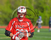 Baldwinsville Bees Michael Tangredi (26) wearing Beads of Courage in support of Maureen's Hope Foundation before playing the Cicero-North Syracuse Northstars in a Section 3 Boys Lacrosse game at Michael Bragman Stadium in Cicero, New York on Tuesday, May 16, 2017.