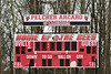 Baldwinsville Bees hosted the Pittsford Panthers in Section III Boys Lacrosse action at the Pelcher-Arcaro Stadium in Baldwinsville, New York on Saturday, April 7, 2018.  Baldwinsville won 14-6.