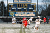 Baldwinsville Bees and West Genesee Wildcats face-off to start a Section III Boys Lacrosse game at Mike Messere Field in Camillus, New York on Tuesday, April 17, 2018.  Baldwinsville won 8-7.