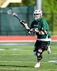 Baldwinsville Bees played the Fayetteville-Manlius Hornets in Section III Class A Semi-Finals Boys Lacrosse action at Michael Bragman Stadium in Cicero, New York on Thursday, May 24, 2018.  Fayetteville-Manlius won 8-7.