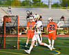 West Genesee Wildcats Ryan Smith (34) after scoring a goal against the Liverpool Warriors in Section III Class A Semi-Finals Boys Lacrosse action at Michael Bragman Stadium in Cicero, New York on Thursday, May 24, 2018.  West Genesee won 16-5.