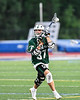 Fayetteville-Manlius Hornets Zachary Vanvalkenburgh (37) looking to make a play against the West Genesee Wildcats in Section III Class A Finals Boys Lacrosse action at Michael Bragman Stadium in Cicero, New York on Wednesday, May 30, 2018.  West Genesee won 12-10.