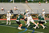 West Genesee Wildcats Noah Sabatino (20) shoots and scores against the Fayetteville-Manlius Hornets in Section III Class A Finals Boys Lacrosse action at Michael Bragman Stadium in Cicero, New York on Wednesday, May 30, 2018.  West Genesee won 12-10.