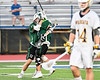 Fayetteville-Manlius Hornets Zachary Vanvalkenburgh (37) celebrates his goal against the West Genesee Wildcats in Section III Class A Finals Boys Lacrosse action at Michael Bragman Stadium in Cicero, New York on Wednesday, May 30, 2018.  West Genesee won 12-10.