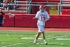 Baldwinsville Bees Braden Lynch (13) on the field against the Victor Blue Devils in Section III Boys Lacrosse action at the Pelcher-Arcaro Stadium in Baldwinsville, New York on Friday, April 6, 2019.  Victor won 9-7.