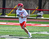 Baldwinsville Bees Adam Davis (3) with the ball against the Fayetteville-Manlius Hornets in Section III Boys Lacrosse action at the Pelcher-Arcaro Stadium in Baldwinsville, New York on Saturday, April 13, 2019.  Baldwinsville won 16-5.