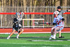 Baldwinsville Bees hosted the Corcoran Cougars in Section III Boys Lacrosse action at the Pelcher-Arcaro Stadium in Baldwinsville, New York on Tuesday, April 30, 2019. Baldwinsville won 20-6.