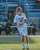 Baldwinsville Bees Adam Davis (3) passing the ball against the Cicero-North Syracuse Northstars in Section III Class A Semifinals Boys Lacrosse action at Michael Bragman Stadium in Cicero, New York on Tuesday, May 21, 2019. Baldwinsville won 7-4.