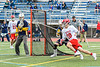 Baldwinsville Bees Spencer Wirtheim (10) cradling the ball against West Genesee Wildcats in Section III Class A Finals Boys Lacrosse action at Michael Bragman Stadium in Cicero, New York on Friday, May 24, 2019. Baldwinsville won 18-6.