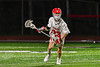 Baldwinsville Bees Colin Doyle (23) running with the ball against the West Genesee Wildcats in Section III Boys Lacrosse action at the Pelcher-Arcaro Stadium in Baldwinsville, New York on Tuesday, May 4, 2021. Baldwinsville won 11-4.