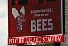 Baldwinsville Bees hosted the West Genesee Wildcats in a Section III Boys Lacrosse game at the Pelcher-Arcaro Stadium in Baldwinsville, New York on Tuesday, May 4, 2021.