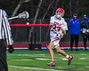 Baldwinsville Bees Trey Ordway (33) fires the ball at the Cicero-North Syracuse Northstars net in Section III Boys Lacrosse action at the Pelcher-Arcaro Stadium in Baldwinsville, New York on Tuesday, May 11, 2021. Baldwinsville won 17-6.