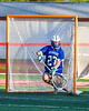 Cicero-North Syracuse Northstars goalie Giovanni Heater (27) makes a save against the Baldwinsville Bees in Section III Boys Lacrosse action at the Pelcher-Arcaro Stadium in Baldwinsville, New York on Tuesday, May 11, 2021. Baldwinsville won 17-6.