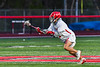 Baldwinsville Bees Jacob Czyz (7) with the ball after winning a face-off against the Cicero-North Syracuse Northstars in Section III Boys Lacrosse action at the Pelcher-Arcaro Stadium in Baldwinsville, New York on Tuesday, May 11, 2021. Baldwinsville won 17-6.