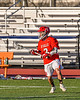 Baldwinsville Bees Victor Ianno (2) looking to make a play against the Liverpool Warriors in Section III Boys Lacrosse action at Liverpool High School Stadium in Liverpool, New York on Thursday, May 13, 2021. Baldwinsville won 17-3.