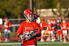 Baldwinsville Bees Trey Ordway (33) before a face-off against the Liverpool Warriors in Section III Boys Lacrosse action at Liverpool High School Stadium in Liverpool, New York on Thursday, May 13, 2021. Baldwinsville won 17-3.