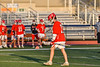 Baldwinsville Bees Keegan Lynch (13) after scoring a goal against the Liverpool Warriors in Section III Boys Lacrosse action at Liverpool High School Stadium in Liverpool, New York on Thursday, May 13, 2021. Baldwinsville won 17-3.