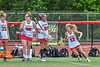 Baldwinsville Bees Makaelynn Neivel (13) being introduced before playing the Cicero-North Syracuse Northstars in the Section III Class A Girls Lacrosse Finals game at Pelcher-Arcaro Stadium in Baldwinsville, New York on Saturday, May 12, 2021.
