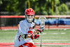 Baldwinsville Bees Colin Doyle (23) cradling the ball against the West Genesee Wildcats in Section III Class A Finals Boys Lacrosse action at Pelcher-Arcaro Stadium in Baldwinsville, New York on Saturday, May 12, 2021. Baldwinsville won 14-7.