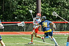 Baldwinsville Bees Trey Ordway (33) shoots and scores a goal against the West Genesee Wildcats in Section III Class A Finals Boys Lacrosse action at Pelcher-Arcaro Stadium in Baldwinsville, New York on Saturday, May 12, 2021. Baldwinsville won 14-7.