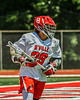 Baldwinsville Bees Michael Marsallo (29) with the ball against the West Genesee Wildcats in Section III Class A Finals Boys Lacrosse action at Pelcher-Arcaro Stadium in Baldwinsville, New York on Saturday, May 12, 2021. Baldwinsville won 14-7.
