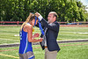 Cicero-North Syracuse Northstars Victoria Iannotti (2) receiving her NYSPHSAA Section III Class A Girls Lacrosse championship medal at the Pelcher-Arcaro Stadium in Baldwinsville, New York on Saturday, June 12, 2021.