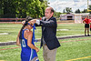 Cicero-North Syracuse Northstars Meira Liberman (10) receiving her NYSPHSAA Section III Class A Girls Lacrosse championship medal at the Pelcher-Arcaro Stadium in Baldwinsville, New York on Saturday, June 12, 2021.
