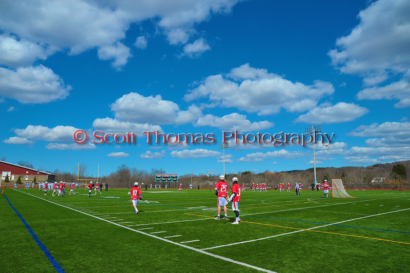 Baldwinsville Bees visited the Marcellus Mustangs on a picture perfect Spring day on Saturday, March 30, 2013.