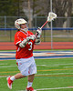 Baldwinsville Bees Dakota Luke (3) during pre-game warm-ups before playing the Liverpool Warriors on Tuesday, April 9, 2013.