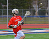 Baldwinsville Bees Zachary Bulak (1) during pre-game warm-ups before playing the Liverpool Warriors on Tuesday, April 9, 2013.