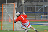 Baldwinsville Bees Zachary Bulak (1) celebrates a goal against the Liverpool Warriors on Tuesday, April 9, 2013.