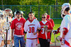 Baldwinsville Bees hosted the Oswego Buccaneers in Section III Boys Lacrosse action at the Pelcher-Arcaro Stadium in Baldwinsville, New York.  Baldwinsville won 9-3.