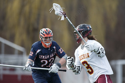 Sheehan's Weston Terzi Monday at Sheehan High School in Wallingford April 9, 2018 | Justin Weekes / Special to the Record-Journal