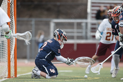 Lyman Hall's Jack Grieco Monday at Sheehan High School in Wallingford April 9, 2018 | Justin Weekes / Special to the Record-Journal