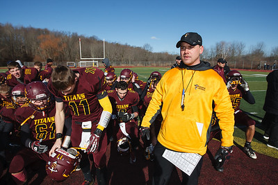Thursday at Riccitelli Field in Wallingford November,28 2013 | Justin Weekes / For the Record-Journal