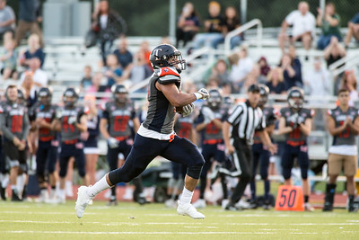 Friday at Fitzgerald Field ion the campus of Lyman Hall in Wallingford September 14, 2018   Justin Weekes / Special to the Record-Journal