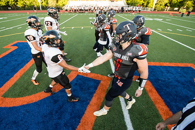 Friday at Fitzgerald Field ion the campus of Lyman Hall in Wallingford September 14, 2018 | Justin Weekes / Special to the Record-Journal