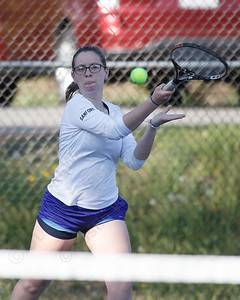 Lyman Hall's Shayna Sanford Tuesday at Doolittle Park in Wallingford May 8, 2018   Justin Weekes / Special to the Record-Journal