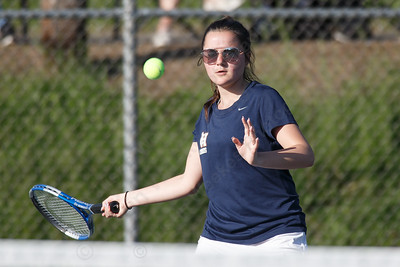 Sheehan's Nicole Nicefaro Tuesday at Doolittle Park in Wallingford May 8, 2018   Justin Weekes / Special to the Record-Journal