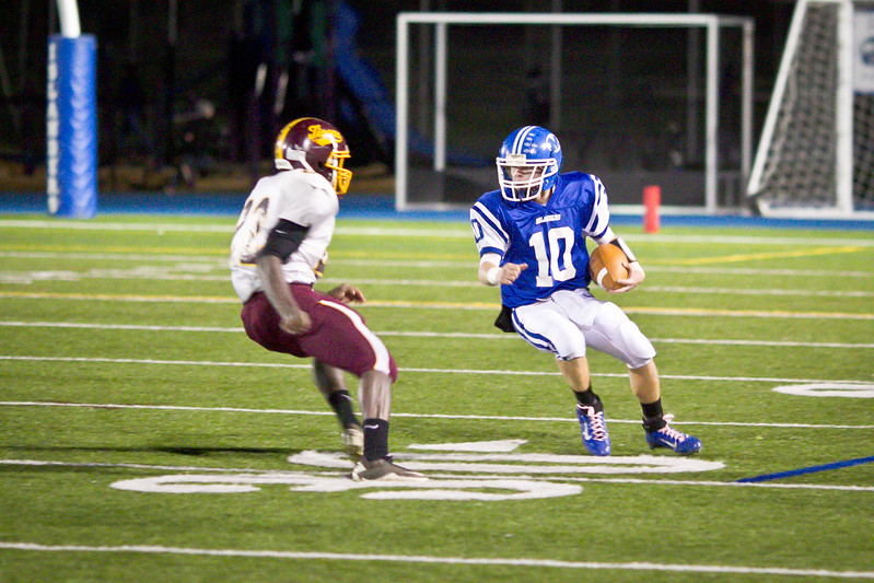 M-Town vs Tiverton Football 10/28/11
