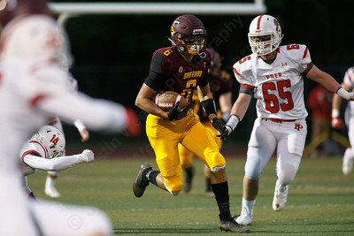 Friday at Riccitelli Field on the campus of Sheehan High School in Wallingford September 28, 2018   Justin Weekes / Special to the Record-Journal